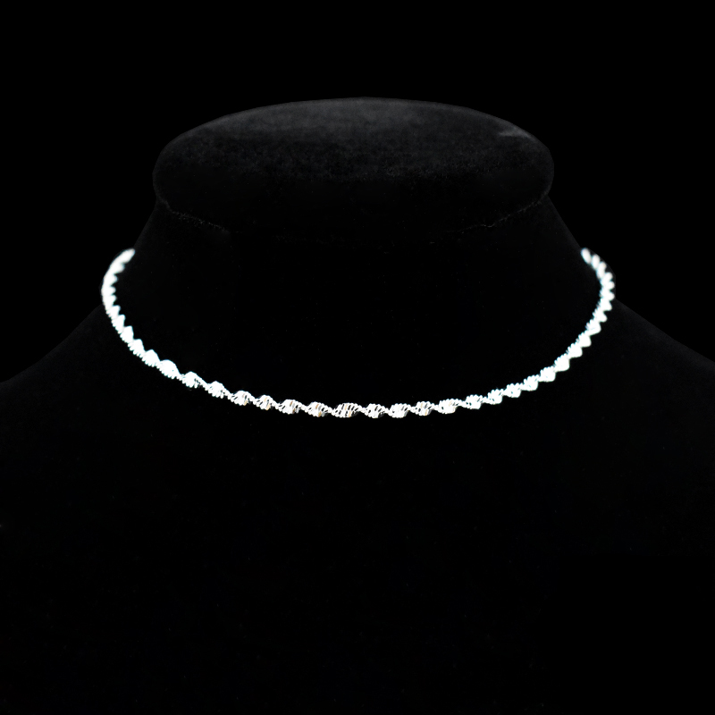 Fashion Twisted Weave Chain For Women Anklet Hot Sale 925 Sterling Silver Anklets Bracelet For Women Foot Jewelry Anklet On Foot 1