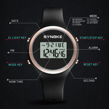 SYNOKE Digital Watch Sports Watches zegarek wodoodporny 50m