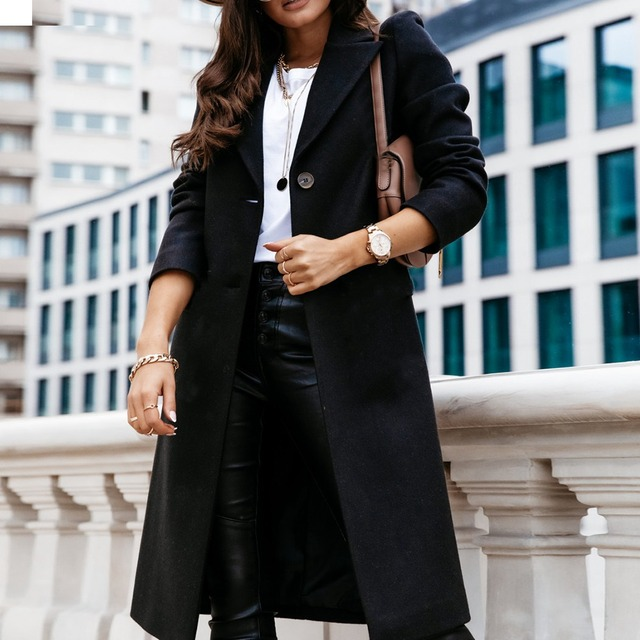 Down Collar Trench Coat 5