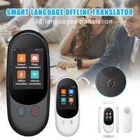 Tradução portátil instantânea da voz em dois sentidos do dispositivo esperto do tradutor da língua para o curso vh99