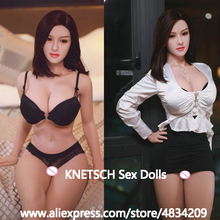 KNETSCH 164cm Big Breast Full Silicone Sex Doll Masturbator Realistic Vagina Anal Pussy Oral Love Doll Adult Sex Toys For Men