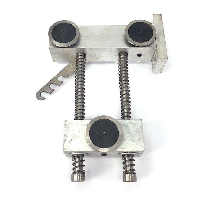 WEDM מוליבדן חוט אטימות רגולטור שלושה מדריך גלגל סוג עבור CNC חוט לחתוך מכונה