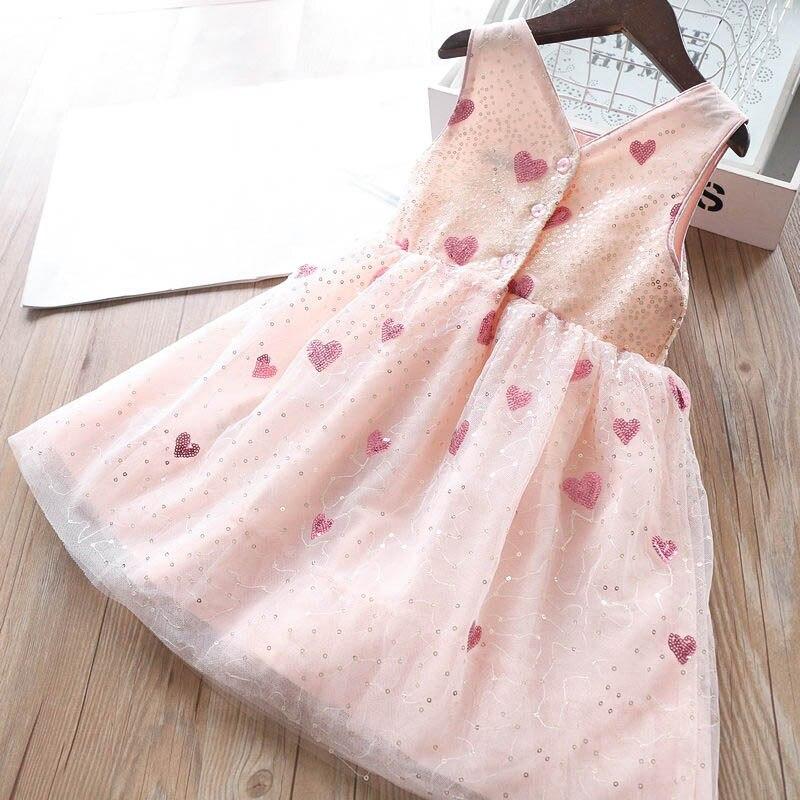 Трикотажное платье с блестками; платье-майка для малышей; весеннее платье для девочек;