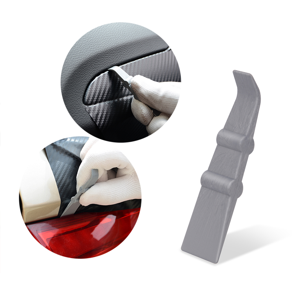 FOSHIO Vinyl Wrap Film Stick Squeegee Scraper Car Tools Carbon Fiber Wrapping Tool Window Tint Car Cleaning Tool Sticker Remover