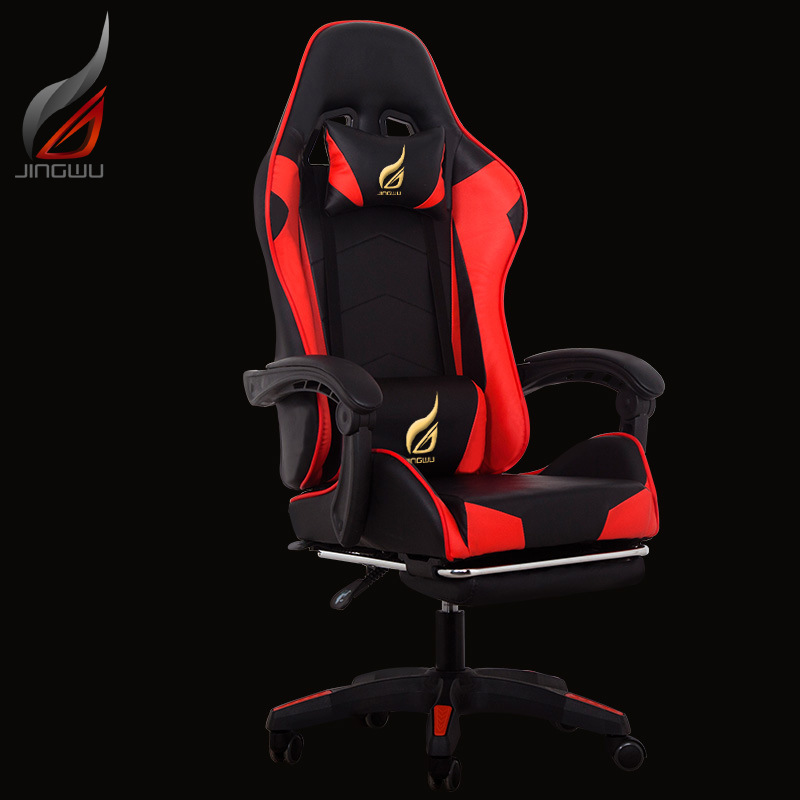 US $361 19 |free shipping Computer chair office chair game gaming chair  recliner sub athletic seat of racing car lift seat factory custom-in Office
