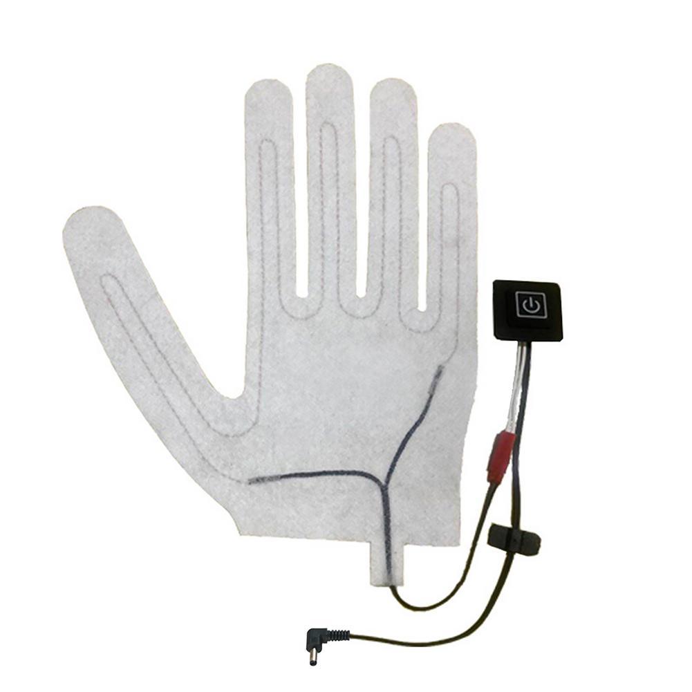 1 шт. перчатка, нагревательная подушка, портативный нагреватель, моющийся Прочный Электрический лист, термоварежки для велоспорта, кемпинга...