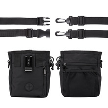 Pet Dog Training Treat Snack Bait Portable Feed Pocket Pouch Waist Back Outdoor Food Bag Dogs Pack