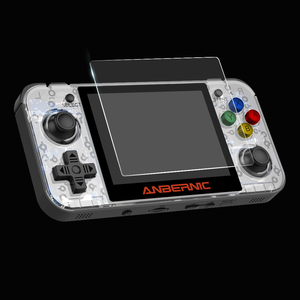 Tempered Glass Film for RG350 Retro Game Console(China)