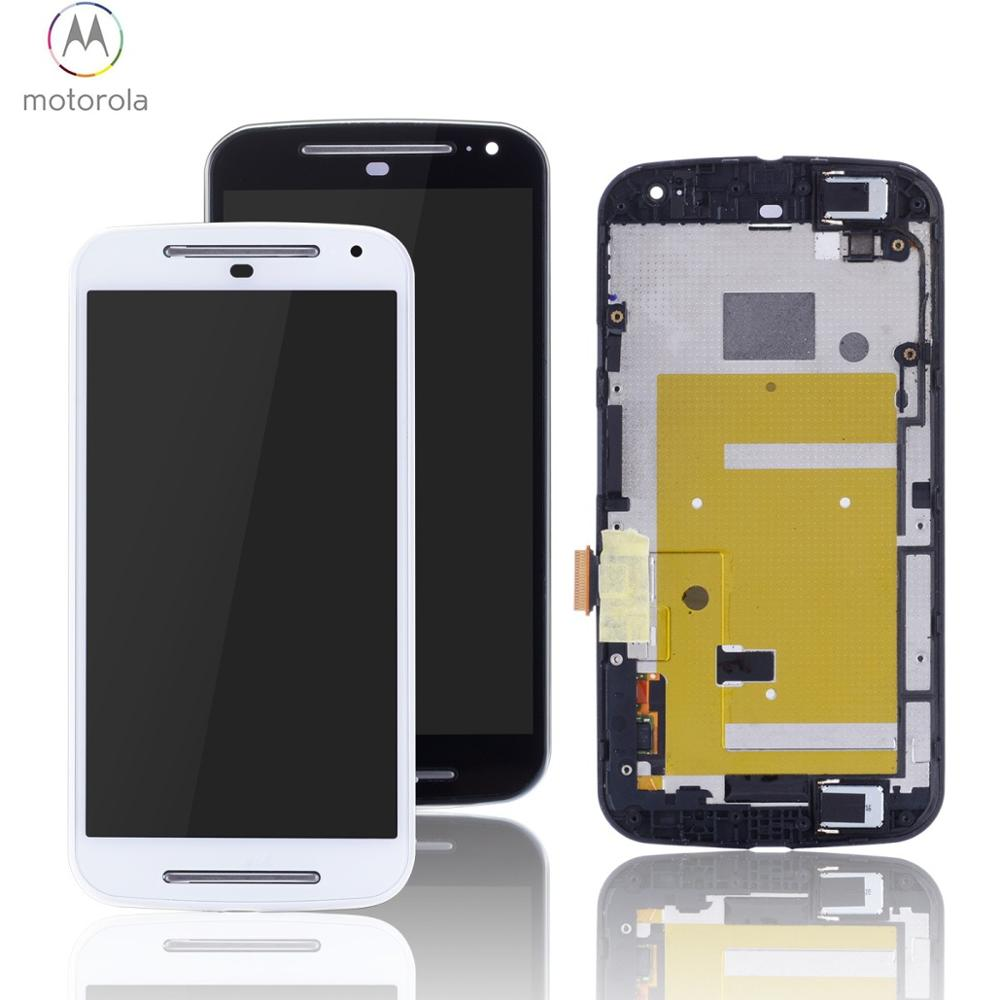 Display For Moto G2 Display Touch Screen Digitizer Assembly For Motorola Moto G2 LCD XT1068 Replacement Parts