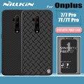Чехол для Oneplus 7T 7 Pro 6T  чехол Nillkin из углеродного синтетического волокна  жесткая полная крышка  задняя крышка телефона  чехол для One Plus 7T Pro 7 Pro ...