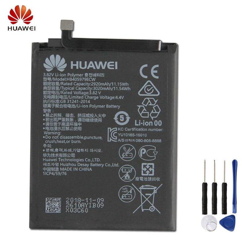 HuaWei Original HB405979ECW Battery For Huawei Nova Glory play 6S 6A 7 ENJOY6 enjoy Genuine Replacement Phone 3020mAh