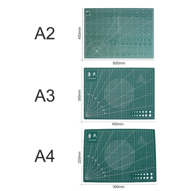 A3/A4/A5 Double-Sided PVC Cutting Mat Durable Self-healing Cut Pad Patchwork Tools Handmade DIY Accessory Cutting Plate
