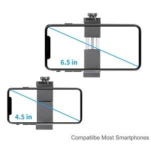 Image 4 - Беспроводной держатель для телефона Ulanzi, с клипсой для телефона с холодным башмаком, светодиодный светильник, штатив для видеосъемки микрофона