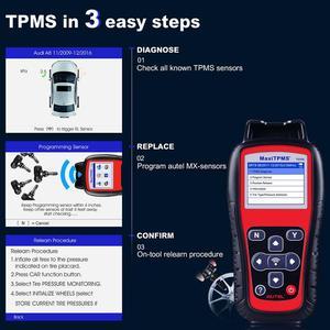 Image 3 - Autel MaxiTPMS TS508 czujniki ciśnienia w oponach TPMS aktywuj narzędzie programowe Scanne