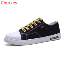 Men Shoes Fashion Casual Sports Comfortable Breathable Outdoor Flat Canvas Sneakers