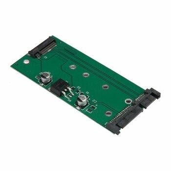 """Convertidor de tarjeta adaptadora de alta capacidad de 6 GB/s Add On Cards resistente a los golpes SSD a la interfaz SATA a M.2 2,5 """"de SATA3"""