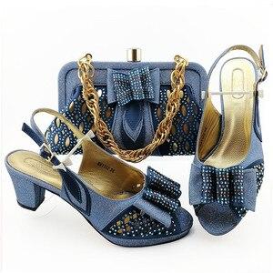 Image 5 - הגעה חדשה נעליים איטלקיות עם שקיות התאמה באיכות גבוהה מעצב נעלי נשים יוקרה 2020 ניגרי נעליים סטי שקית