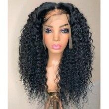 Alipearl Curly Brazilian Wig Human Hair Curls Front Lace Wig Curly Brazilian Human Hair Wig For Women Human Hair With HD Lace