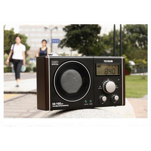 Image 3 - Tecsun CR 1100 DSP רדיו עם גדול עמוק קול AM/FM סטריאו בציר בית באיכות גבוהה רמקול רדיו מקלט