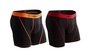 Image 5 - Calzoncillo bóxer de malla deportiva para hombre, ropa interior masculina de secado rápido, transpirable, ligera, talla S XXL, EE. UU., 2 unidades