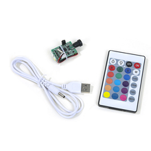 3D printing light board 2 / 16 color USB touch remote control light board moon light board with Battery LED color changing night
