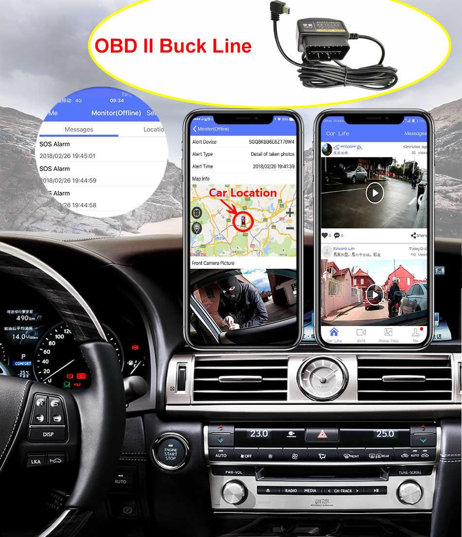 "Anstar Mobil DVR 4G Android Cermin Dash Kamera 10 ""Spion Kamera GPS Adas Cermin Perekam 1080P streaming Media Dash Cam"
