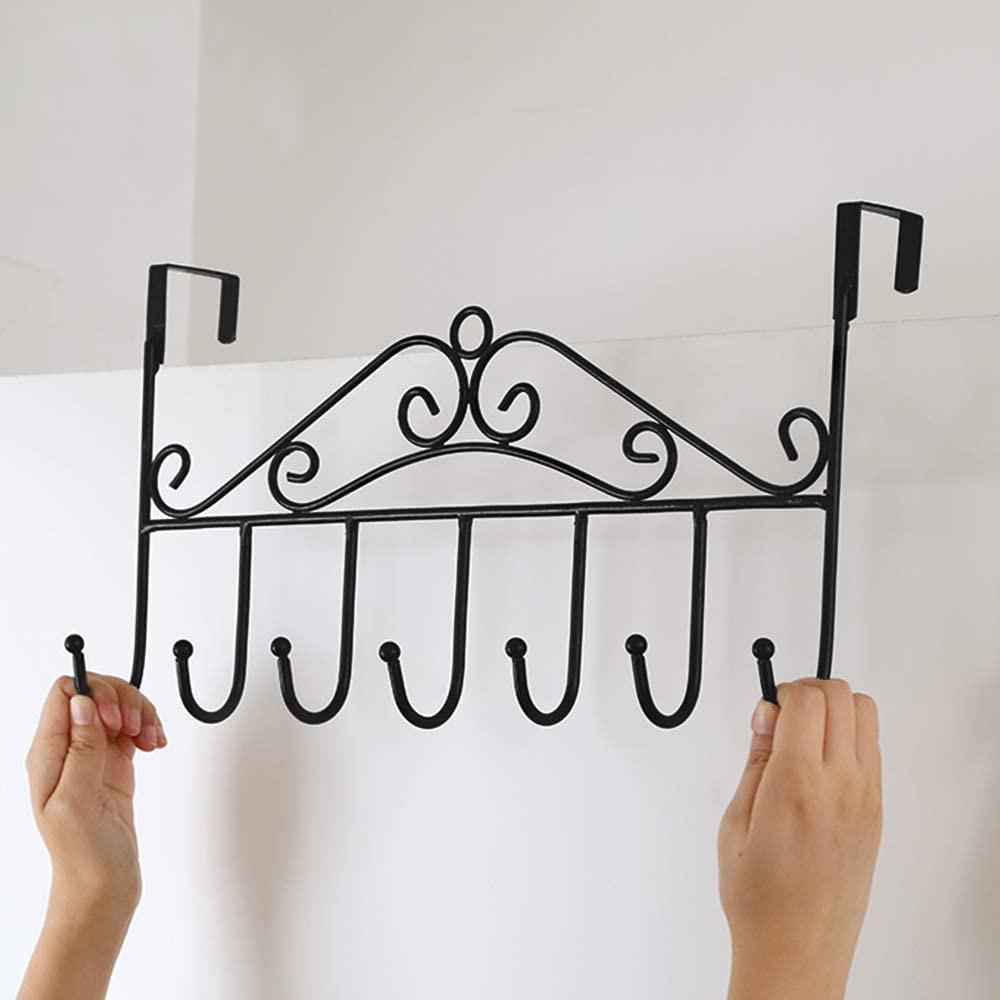 7 Hanger Rack Hook Bold Door Back Hook Home Storage Supplies  Decorative Metal Door Hooks Hanger Holder For Home Office Kitchen