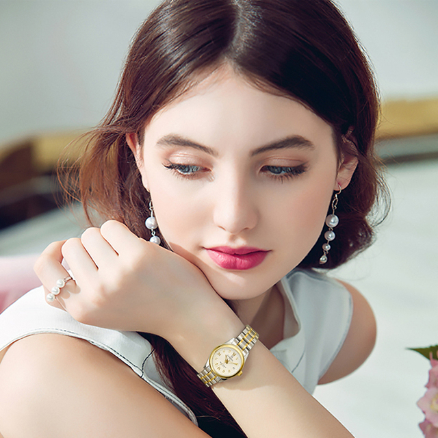 Reloj Mujer CARNIVAL Brand Luxury Women Mechanical Watch Ladies Fashion Waterproof Crystal Sapphire Automatic Wristwatches Clock 6