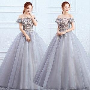 Женское бальное платье Gryffon, винтажное кружевное платье с открытыми плечами, вечерние платья для выпускного вечера