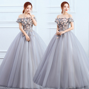 Gryffon Quinceanera Dress Prom Elegant Off The Shoulder Ball Gown Vintage Lace Dresses Party Solo - discount item  32% OFF Special Occasion Dresses