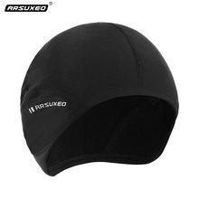 Tapa de protección para ciclismo para hombre, gorro térmico de lana para correr, calentador de cabeza, gorras para deportes al aire libre, para invierno