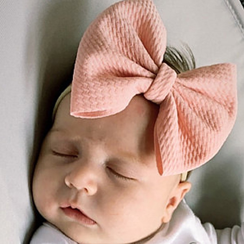 Baby baby clothes baby clothes hairband headband hairband muslin burgundy