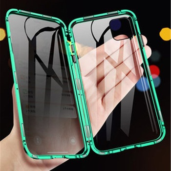 Anti-peeping Magnetic Phone Case For iPhone 11pro XR XS Max X XS 7 8 6 6S Plus Privacy Screen Protector Tempered Glass Cover