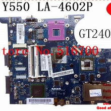 Laptop Motherboard Ideapad Lenovo for Y550 GM45 with GT240M Kiwb1/B2/La-4602p/.. Scheda