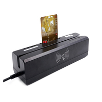 IC/PC/NFC smart EMV Chip credit card reader writer + all 3 tracks magnetic card reader device POS system