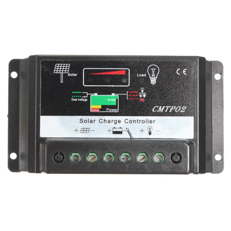 <font><b>30A</b></font> <font><b>PWM</b></font> <font><b>Solar</b></font> Panel Battery Regulator <font><b>Charge</b></font> <font><b>Controller</b></font> 12V/24V Auto image