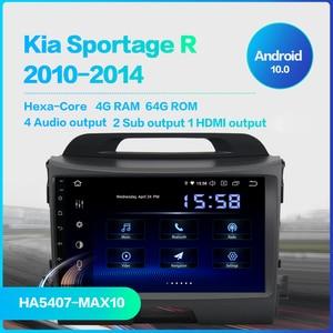 "Image 2 - Dasaita 9 ""IPS araba Android 10.0 radyo için Kia Sportage R 2013 2014 2015 2016 Bluetooth GPS Navigator araba ses"