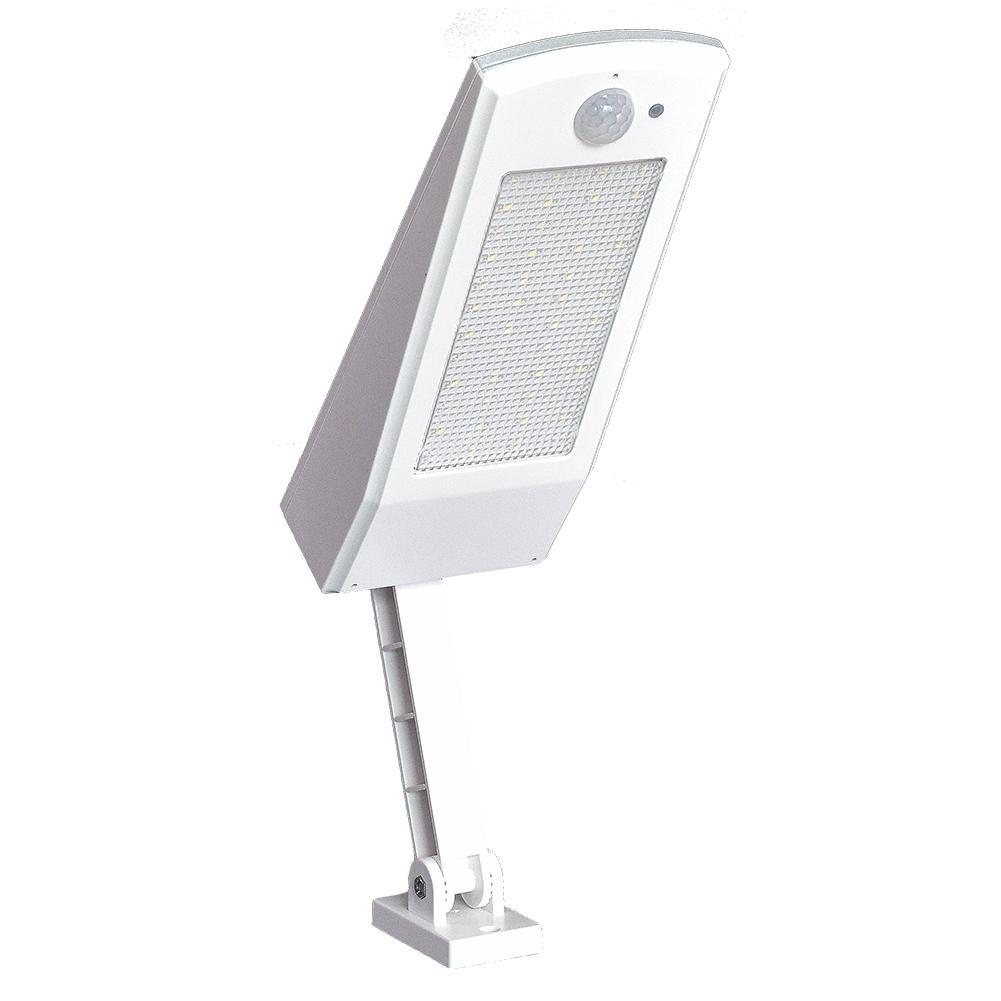 Lumière solaire paysage cour jardin éclairage corps humain Induction lampadaire LED Super lumineux réglable Angle lampe