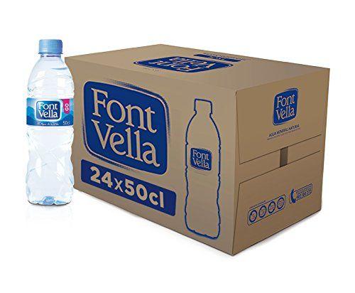 Font Vella Wasserflasche, 50 Cl, 24 Stück