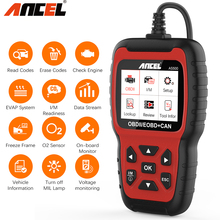 OBD2 Scanner Code-Reader Car-Diagnostic-Tool Ancel As500 2-Fault Free-Update Live-Data