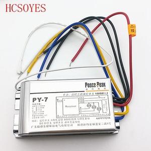 Image 4 - LED3 interruptor remoto inalámbrico de alta tensión 1000W x 3 canales, controlador de paquetes, control remoto sensible al RF