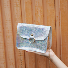 Fashion Bags Female 2020 New Tide Korean Version of the Wild Messenger Bag Chain Small Package