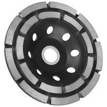 цена на 115mm Diamond Grinding Disc Abrasives Concrete Tools Grinder Wheel Metalworking Cutting Grinding Wheel Cup Saw