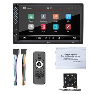 Player Audio Stereo-Receiver Car-Radio MP5 New 2-Din with 8LED Rear-Camera N8 Mirror-Link