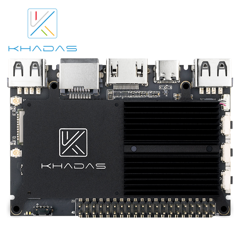 Image 5 - Khadas VIM2 Basic Powerful Single Board Computer Octa Core with MIMOx2 WiFi AP6356S WOL Amlogic S912 DIY Box-in Demo Board from Computer & Office