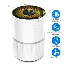 3 режима домашний портативный очиститель воздуха usb зарядка