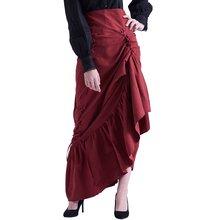 Урожай готический корсет юбка Викторианский стимпанк Косплей
