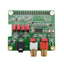 Pcm5122 raspberry pi hifi chapéu dac, pcm5122 hifi dac placa de expansão de placa de áudio para raspberry pi 4 3 b + pi zero w