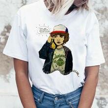 Женская забавная футболка в стиле Харадзюку с коротким рукавом