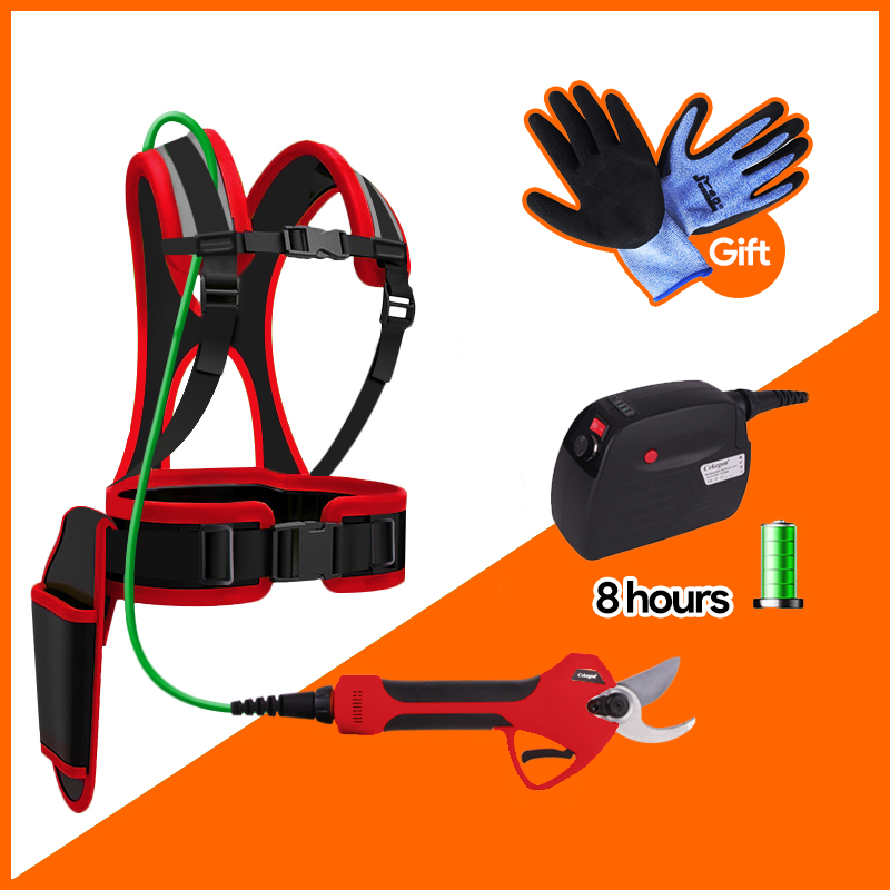 Cordless electric pruning shears pruning electric pruning shears garden trimmer garden shears rechargeable battery pruning shear